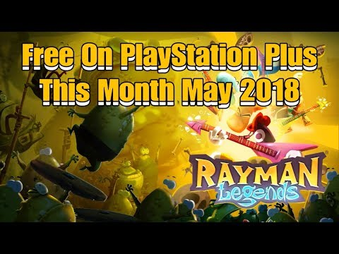PS4 Rayman Legends Free On PlayStation Plus This Month May 2018.