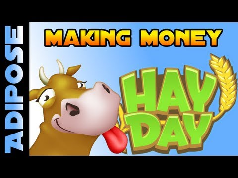 Hay Day- Beginners Guide to Making Money! Quick Cash!