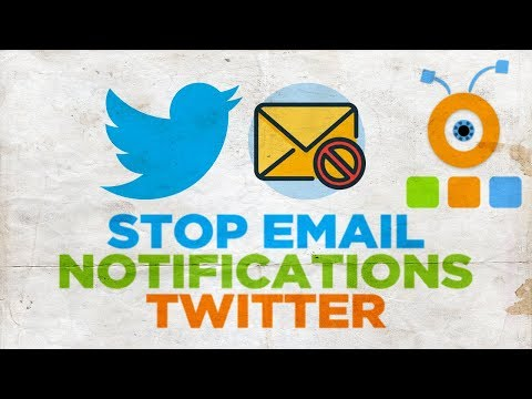 How to Stop Email Notifications from Twitter | How to Turn Off Twitter Email Notifications