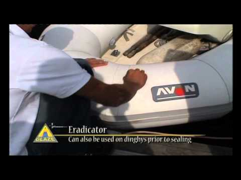 Boat and Yacht Cleaning Product -- A Glaze Eradicator & A Glaze Nano Clean Lubricant.mov
