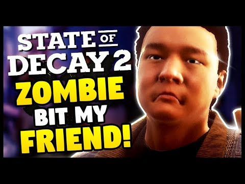 ZOMBIES MADE ME HATE EVERYONE   State Of Decay 2 - Funny Moments Gameplay