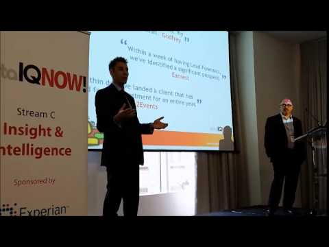 Lead Forensics at dataIQNOW! 2014