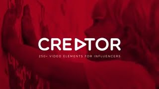 Creator: 250+ Elements for Influencers and Vloggers – Motion Graphic (RocketStock)