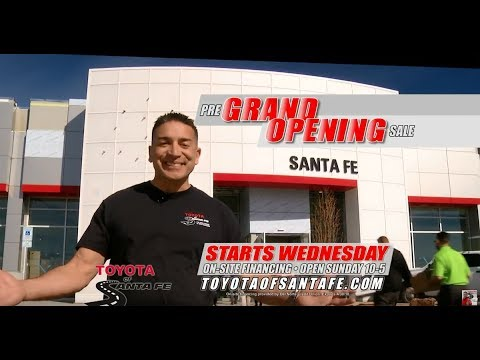 PRE-GRAND OPENING 30 starts Wednesday at Toyota of Santa Fe | New Mexico Toyota Dealer
