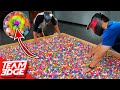 1 Paintball In 5000 Bouncy Balls Dont Get Shot First
