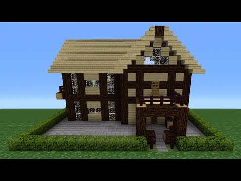 Minecraft Tutorial: How To Make A Wooden House - 5