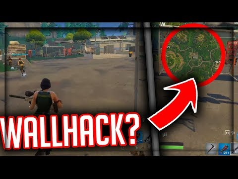 CRAZY Fortnite Wall Hack/Glitch?!?! See-Through Walls in Tilted Towers Fortnite BR Glitch!