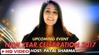 Upcoming Event II New Year Celebration 2017 II Host