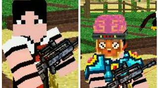 Pixels guns