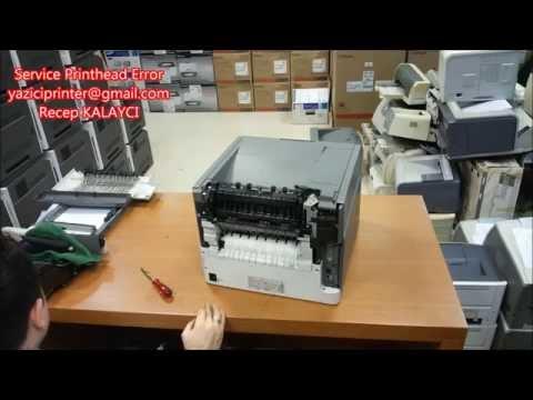 Service Printhead Error (Lexmark T650n Service Printhead Error Onarımı - VIDEO)