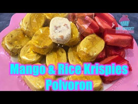Mango Polvoron&Rice Crispies Polvoron