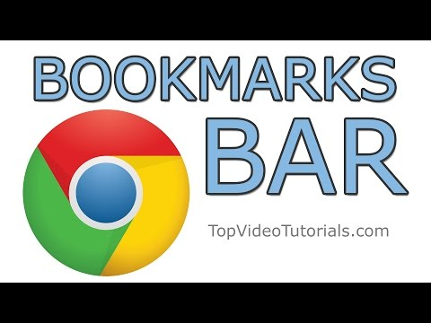 How to Show or Hide Bookmarks Bar in Google Chrome