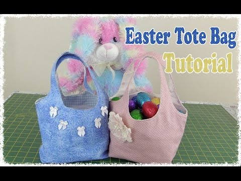 Cute Easter Tote Bag Tutorial