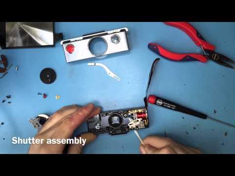 Polaroid Sx 70 repair time laps