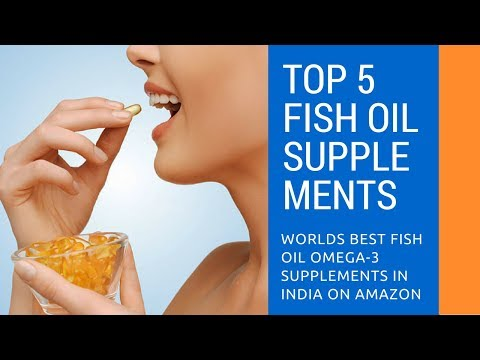 Top 5 Best Fish Oil Supplements in India at Best Prices- Best Fish oil supplements on Amazon.