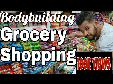 SAVE MONEY !! | CHEAP INDIAN BODYBUILDING DIET GROCERY SHOPPING