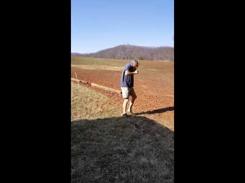 How NOT to check if your new electric fence is working!