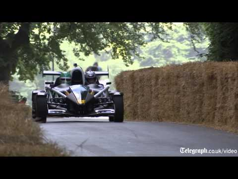 100mph up Goodwood hillclimb with my dad