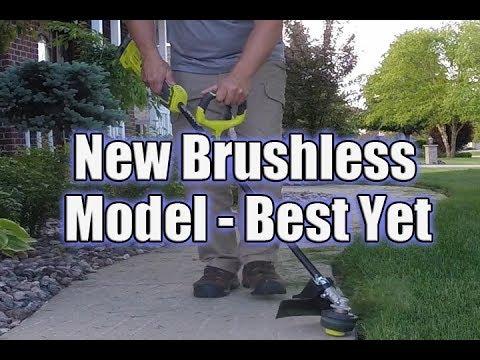 Ryobi ONE+ 18-Volt Brushless String Trimmer Review P2090