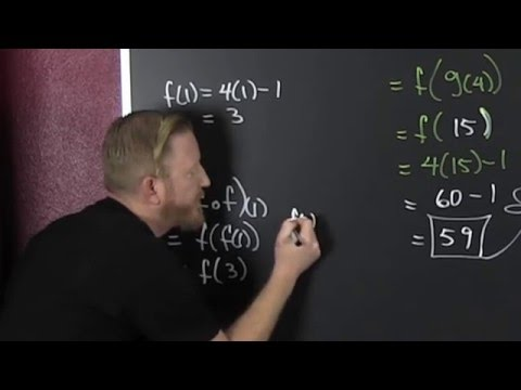 Evaluate the Composition of Functions