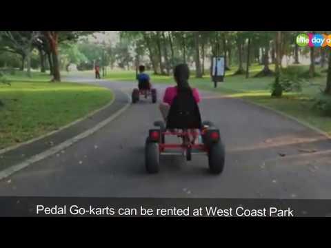 Pedal Go Karts at West Coast Park