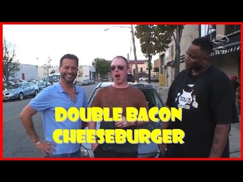 DAYM DROPS - DOUBLE BACON CHEESEBURGER: Big Meals, Small Places