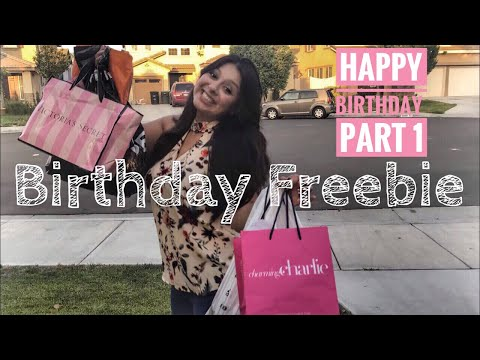 How To Get Free Birthday Stuff | Clothes and Beauty Edition