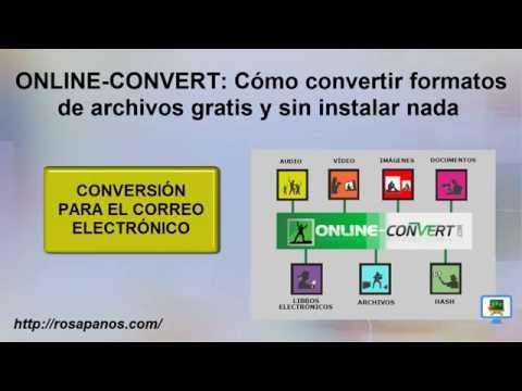 ONLINE CONVERT (6) Conversion usando correo electronico - HD con subtitulos