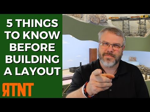 5 Things You Need to Know Before Building a Model Railroad Layout