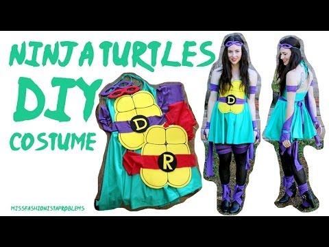 DIY Ninja Turtle (TMNT) Costume