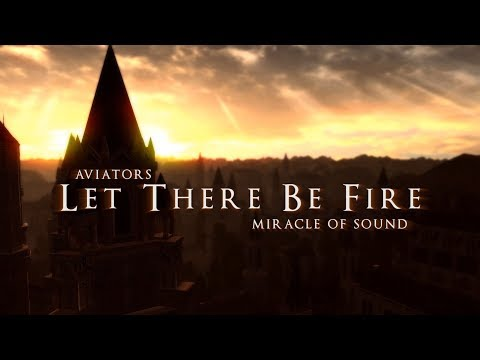 Aviators - Let There Be Fire (feat. Miracle of Sound) (Dark Souls Song | Symphonic Rock)