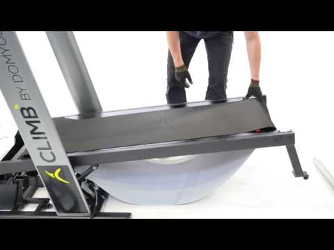 How to change the running deck on a treadmill ?
