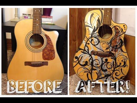 DIY Guitar Makeover