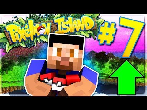 POWER LEVELING! - PIXELMON ISLAND S2 #7 (Minecraft Pokemon Mod)