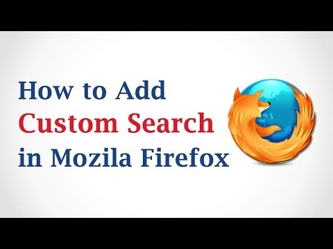 How to Add a Custom Search Engine to Mozilla Firefox