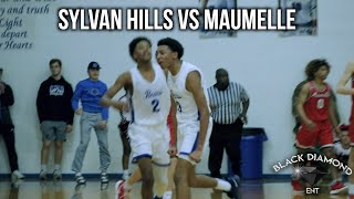 Sylvan Hills vs Maumelle | Nick Smith Leads Sylvan Hills In A CLOSE MATCHUP