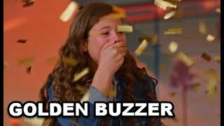 """GOLDEN BUZZER - #1 The """"MOST EMOTIONAL"""" 13 Yr Old Singing - Don"""