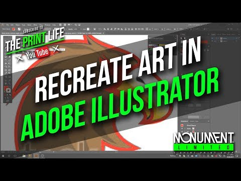 How to use the pen tool and adobe illustrator to recreate low resolution art for screen printing