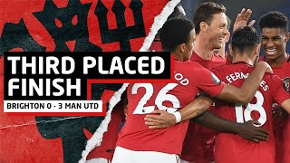 Push For 3rd Place Finish!   Brighton 0-3 Manchester United   Match Review