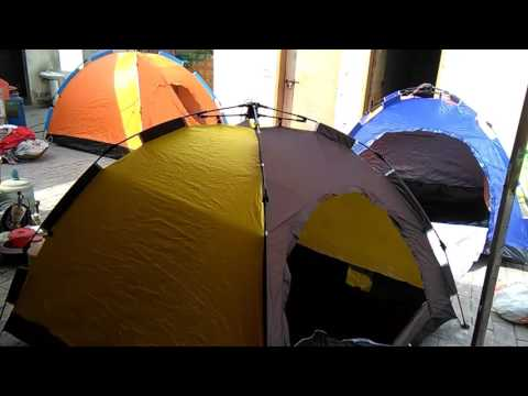 Camping Tents of 4 and 6 Person Capacity  Little House in a Small Bags  Brand new- Pin Packed