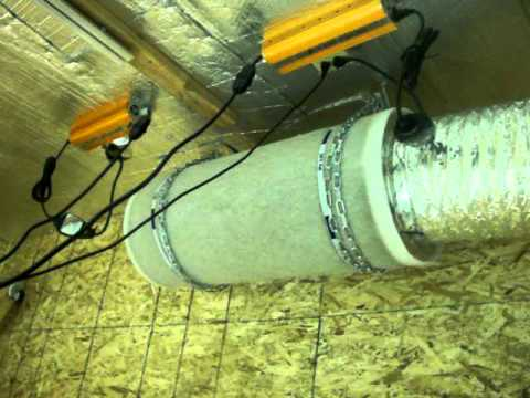 Carbon Filter and Exhaust Fan