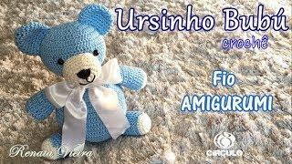 Amigurumi Urso Théo Parte 1 - Passo a Passo por Glê Negri - YouTube | 180x320