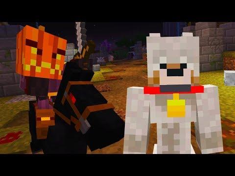Haunted Hello Neighbor-hood Minecraft - Headless Horseman Kills Nitro