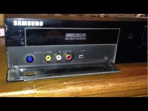 Review of the Samsung DVD-VR375 DVD VCR Recorder