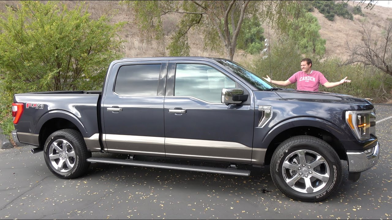 The 2021 Ford F-150 Is Totally New and Really Impressive