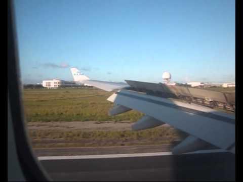 ✈ Airbus 330-200, KLM: Landing at Reina Beatrix Aruba