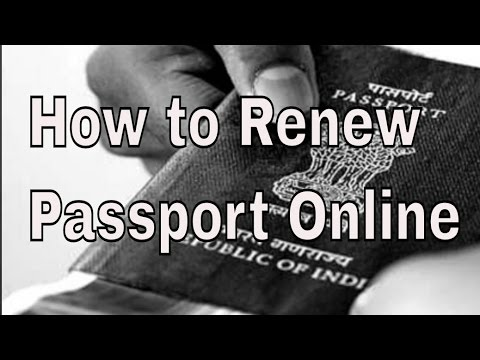 How to Renew Indian passport online | In Hindi | Vlog #8