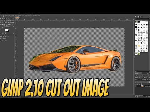 How To Cut Out A Image In GIMP 2.10 Beginners Guide Part 4 | Getting Started With GIMP 2.10