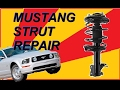 How to replace 2005 Mustang front strut & coil spring