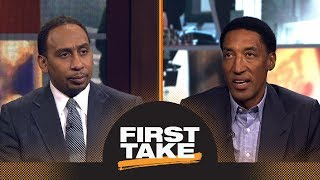 Stephen A. Smith and Scottie Pippen can